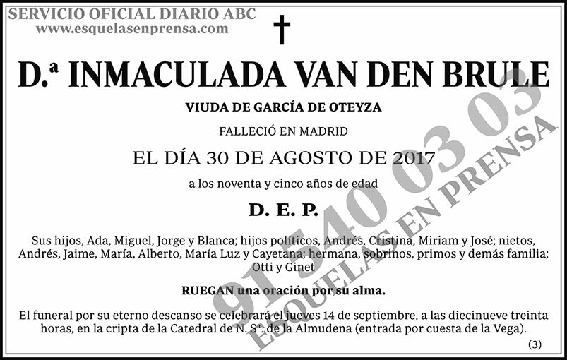 Inmaculada Van Den Brule